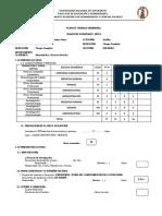 Plan de Trabajo Individual 2018 II - Iván