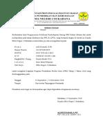 Format Surat Tugas Mengikuti PLPG Sertifikasi Guru