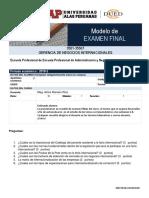Nuevo Formato de Modelo de Examen Final UAP
