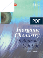 [Jack Barret] Inorganic Chemistry in Aqueous Solut(BookFi