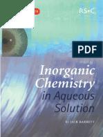 [Jack Barret] Inorganic Chemistry in Aqueous Solut(BookFi