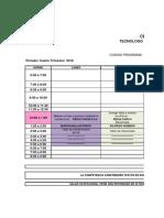 Horarios Grupos IV Trimestre-2 018 Metalmecanica v2 Sept 7