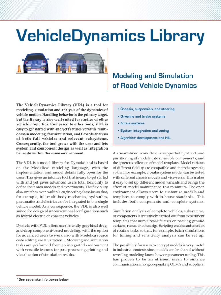 Vehicle Dynamics Library | Suspension (Vehicle) | Brake