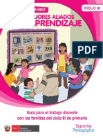 Guía Para El Trabajo Docente Con Las Familias Del Ciclo III de Primaria (1)