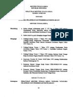 Permenaker Nomor 03_MEN_1998_Tata Cara Pelaporan & Pemeriksaan Kecelakaan
