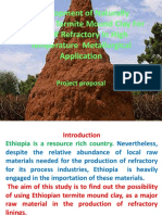 Development of Naturally Occurring Termite Mound Clay Edited