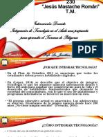 Integración de Tecnología en el Aula. Teorema de Pitágoras.