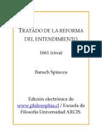 Tratado de la reforma del entendimiento - Spinoza.pdf
