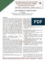 Demonetisation-Challenges in Cashless Economy