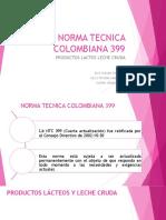 Norma Tecnica Colombiana 399 (1)