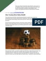 Situs Taruhan Bola Online Bola88 | Goodlucky99
