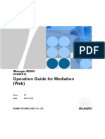 iManager M2000 V200R013 Operation Guide for Mediation (Web).doc