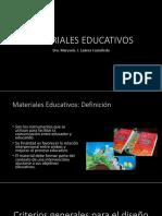 Clase 2 Materiales Educativos