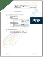 AR-4 Copy Invoice