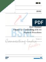 User Training Manual_FI_ Payment Procedures v 1 1
