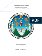 Resumen de La Región Centroamericana