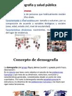 Clase 4 Demografía y Salud Pública