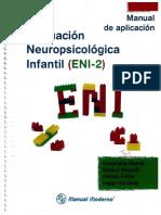 Manual de aplicación Evaluacion Neurologica Infantil.pdf