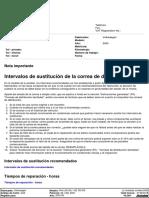 Sustitución de La Correa de Distribución JETTA 1.9TDI