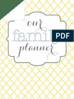 Home Organizational Binder Printables