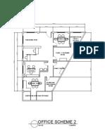 Floor plan for irregular plot
