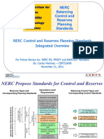 Nerc Control and Reserves Planning Standards Overview