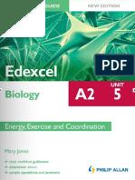 A2 Student Unit Revision Guide Edexcel Biology Unit 5