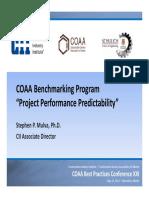 Workshop Benchmarking  Report