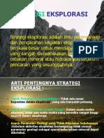 Strategi Eks. Geofisika