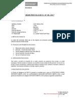 Informe Progreso - PSICOLOGIA