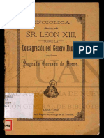 Annum Sacrum _ 1899_ Encíclica