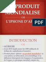 L'IPHONE UN PRODUIT MONDIALISE
