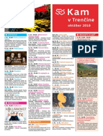 KAM v Trenčíne - október 2018