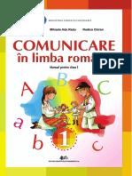 Comunicare in Lb.romana Manual - Clasa 1
