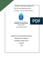 3, Be & Gg, Riana Fitri, Prof. Dr. Ir Hapzi Ali, Mm, Cma, Ethics of Consumer Protection, Universitas Mercu Buana, 2018