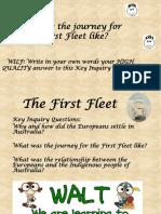first fleet lesson 4