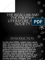 The Rizal Law