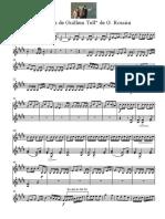 Obertura de Guillem Tell de G Rossini adaptació