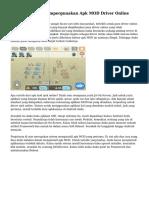 Sikap Realistis Mempergunakan Apk MOD Driver Online