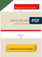 Minggu 2 Statistik Deskriptif Pemusatan