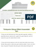 Türk Dili 1 Ders Sunumu 9