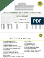 Türk Dili 2 Ders Sunumu 10