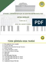Türk Dili 2 Ders Sunumu 9