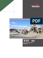 Telestack Titan Bulk Reception Feeders Brochure 2017
