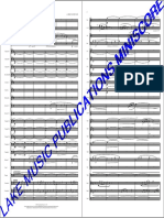 The Last Samurai Blas Orchester Mini Score