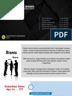 PPT - Komunikasi Bisnis