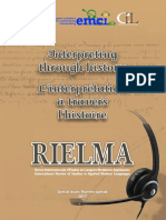 Interpreting History RIELMA 2017