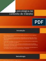 Avaliação Psicológica No Contexto Do Trânsito (1)