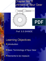 Lecture on Gear-Measurement