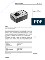 011435 en Preselect Counter Electrical Incrementing